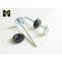 Roofing nail,thread screw shank roofing nail,screw shank roofing nail,steel roofing nail,thread roofing nail