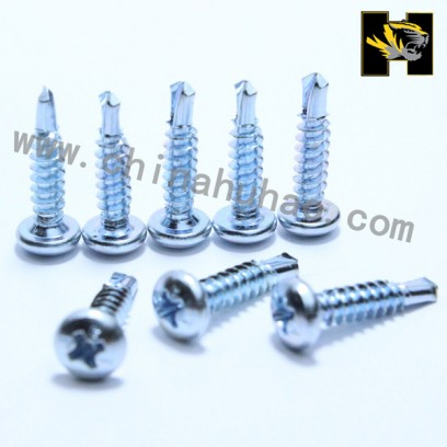 Pan head self drilling screws