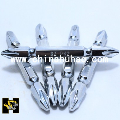 Nickel mirror surface drive bits