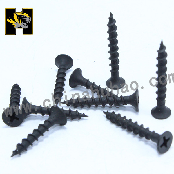Coarse thread phosphated  drywall screws