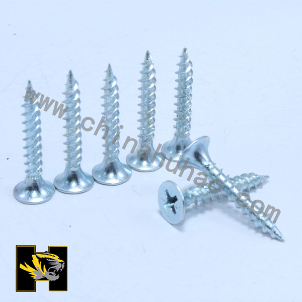 Zinc galvanized drywall screws